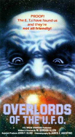 9786301304429: Overlords of the UFO [VHS]