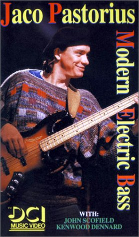 9786301329804: Jaco Pastorius Modern Electric Bass [VHS]