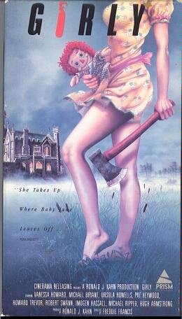 9786301360968: Girly [VHS]