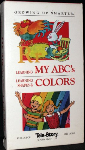 9786301400671: Growing Up Smarter: Learning My ABC's / Learning About Shapes & Colors [VHS]