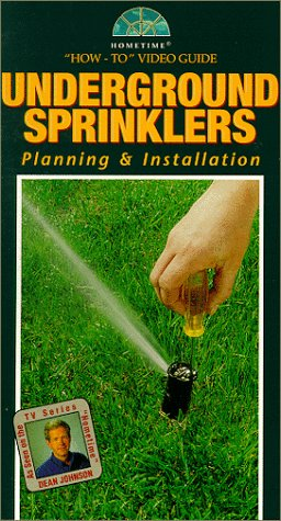 9786301415491: Underground Sprinklers [VHS]