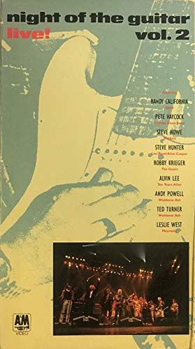 9786301417501: Night of the Guitar Live Vol. 2 [VHS]