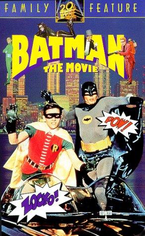 9786301436540: Batman - The Movie [VHS]