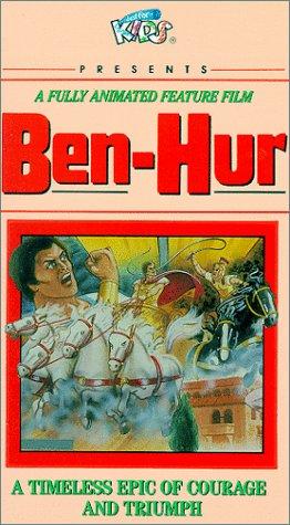 9786301440103: Ben-Hur (Animated) [VHS]