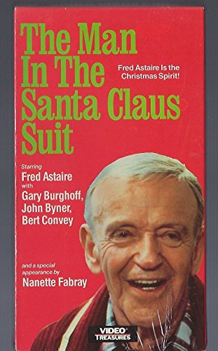 9786301454766: The Man in the Santa Claus Suit [VHS]