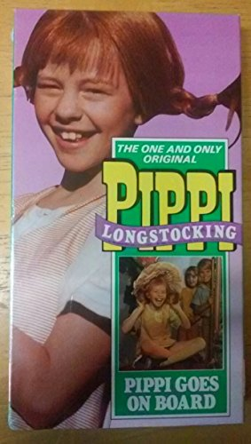 9786301481014: Pippi Goes on Board [VHS]