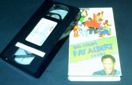 9786301515320: Fat Albert and the Cosby Kids Vol. 5: 3 Strikes and You're In [VHS]