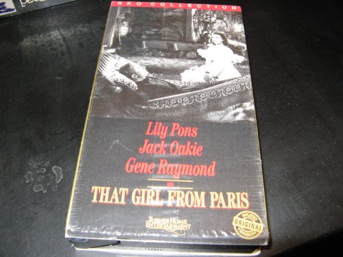 9786301589406: That Girl from Paris [VHS]