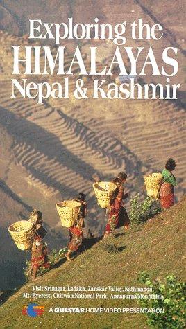 9786301599108: Exploring the HIMALAYAS, Nepal, & Kashmir [VHS]