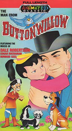 9786301606127: The Man From Button Willow [VHS]