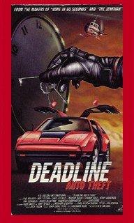 9786301609739: Deadline Auto Theft [VHS]