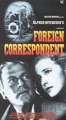 9786301640664: Foreign Correspondent [VHS]