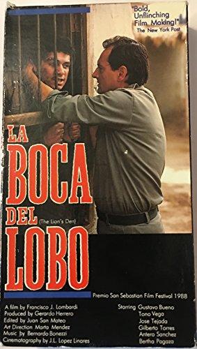 9786301682947: La Boca Del Lobo [VHS]