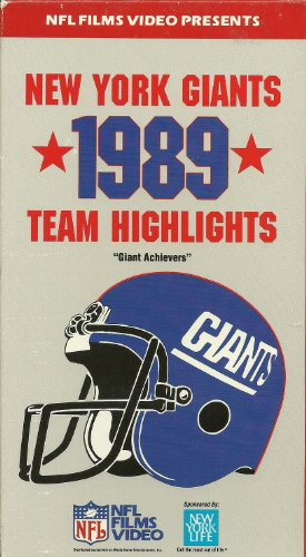 9786301704311: Giants 1989 [VHS]