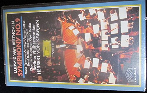 9786301716048: Beethoven - Symphony No. 9 in D Minor, Op. 125 [VHS]