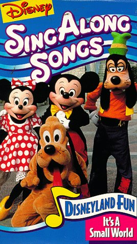 9786301753531: Sing Along Songs: Disneyland Fun It's A Small World [VHS]