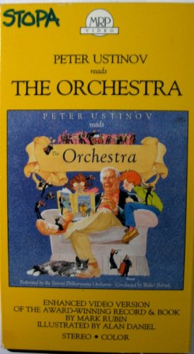 9786301788526: Peter Ustinov reads The Orchestra [VHS]