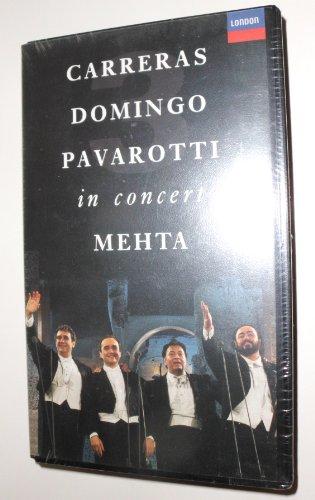 9786301793193: Carreras Domingo Pavarotti in Concert [USA] [VHS]