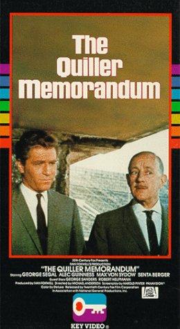 9786301798761: Quiller Memorandum [VHS]