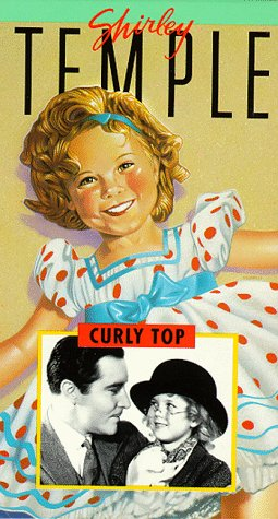 9786301802505: Curly Top [VHS]