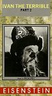 9786301815796: Ivan the Terrible, Part Two [USA] [VHS]