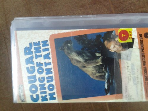 9786301845915: Cougar:King of the Mountain [VHS]