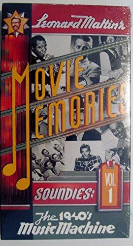9786301851121: Soundies, Vol. 1: Leonard Maltin's Movie Memories The 1940's Music Machine [VHS]
