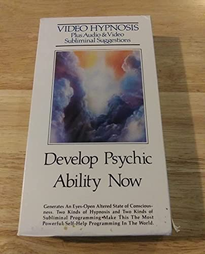9786301882781: Video Hypnosis with Subliminals: Develop Psychic Ability Now [VHS]
