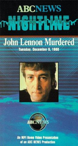 9786301900003: John Lennon Murdered [VHS]
