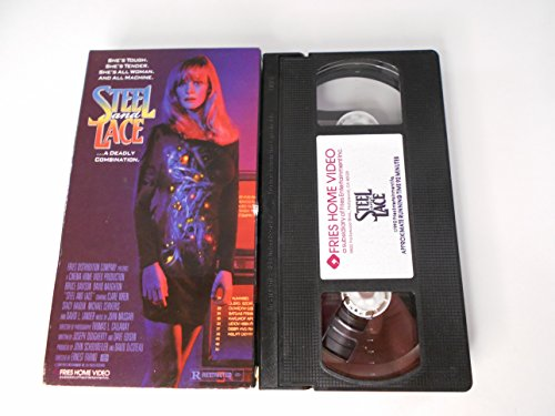 9786301903745: Steel and Lace [VHS]