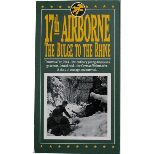9786301912792: 17th Airborne the Bulge to the Rhine [VHS]
