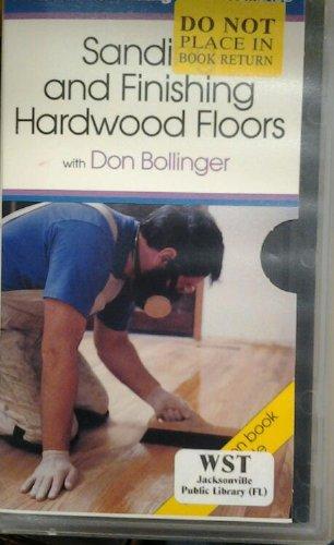 9786301919005: Sanding and Finishing Hardwood Floors [VHS]