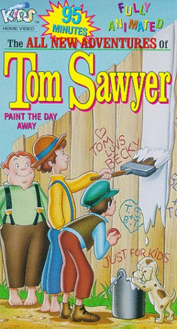 9786301921022: Tom Sawyer:Paint the Day Away [VHS]