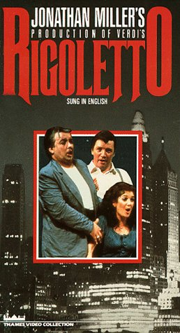 9786301928038: Jonathan Miller's Rigoletto / English National Opera (Sung in English) [VHS]