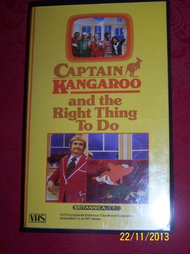 9786301952040: Captain Kangaroo & Right Thing to Do [VHS]