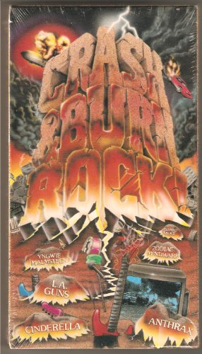 9786301955027: Crash & Burn Rock [VHS]