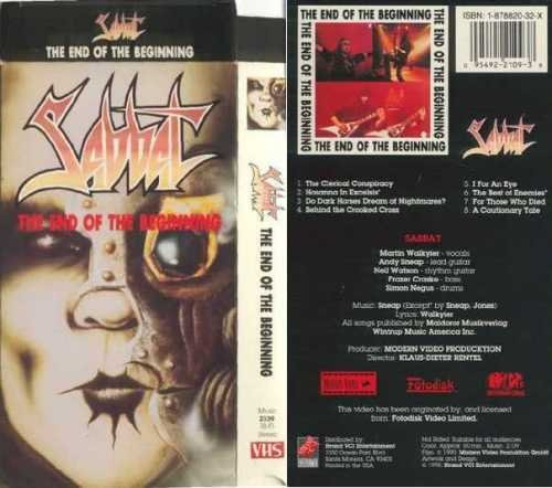 9786301959896: Sabbat:End of the Beginning [VHS]