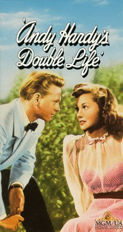 9786301964104: Andy Hardy's Double Life [VHS]