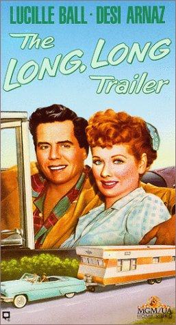 9786301972277: The Long, Long Trailer [VHS]