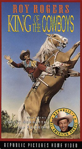 9786301976787: King of the Cowboys [VHS]