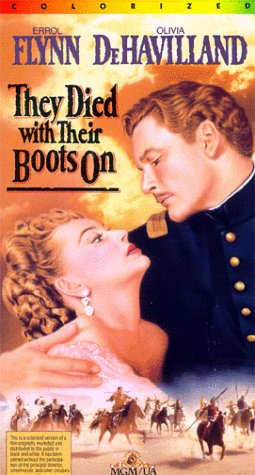9786301977166: They Died with Their Boots On (Colorized) [VHS]