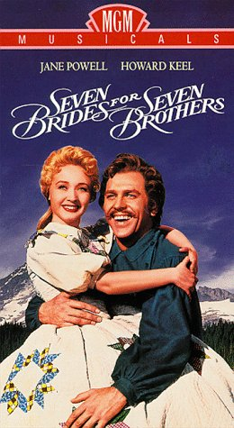 9786301977364: Seven Brides for Seven Brothers [VHS]