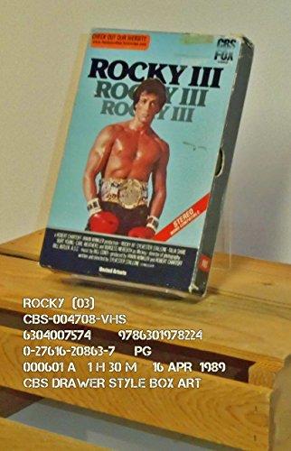 9786301978224: Rocky 3 [VHS]