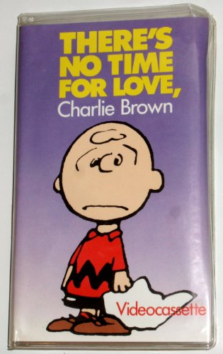9786301986496: There's No Time for Love, Charlie Brown [VHS]