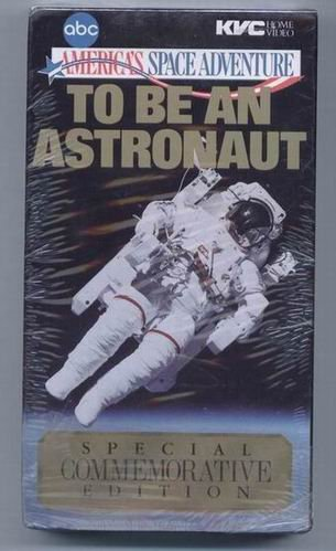9786301986625: To Be An Astronaut [VHS]