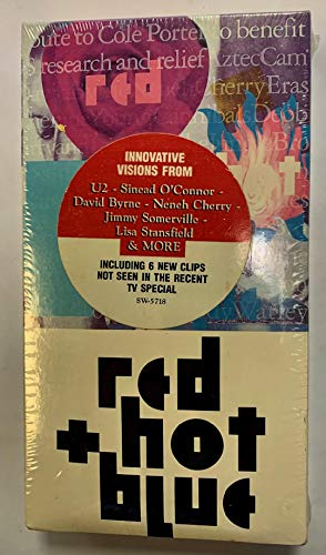 9786302009033: Red Hot + Blue - Tribute to Cole Porter - A Benefit for AIDS Research and Relief [VHS]