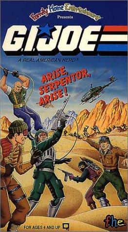 9786302028546: G.I. Joe:Arise Serpentor Arise [VHS]