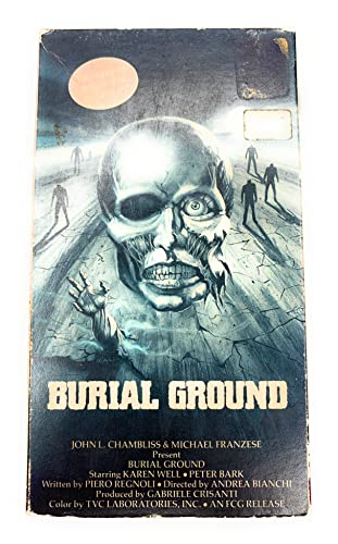 9786302035162: Burial Ground [VHS]