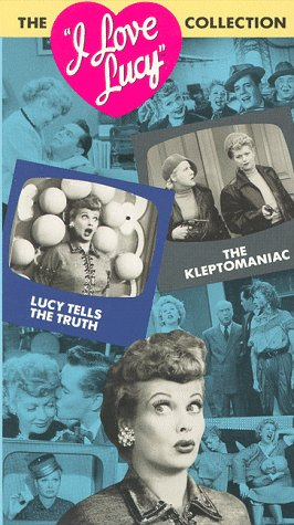 9786302041170: I Love Lucy, Vol 10: Lucy Tells The Truth / The Kleptomaniac [VHS]