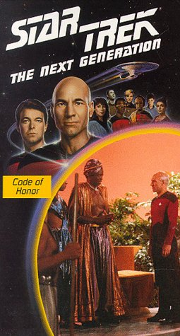 9786302105841: Star Trek - The Next Generation, Episode 4: Code Of Honor [VHS]